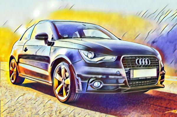 Audi (Effektbild)